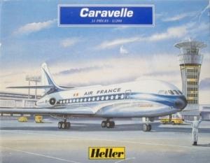 HELLER 1/200 79774 CARAVELLE AIR FRANCE