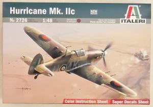 ITALERI 1/48 2726 HURRICANE Mk.IIC