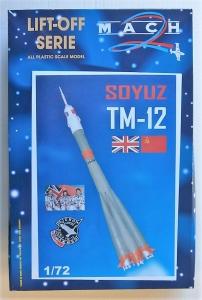 MACH 1/72 L020 SOYOUZ TM-12