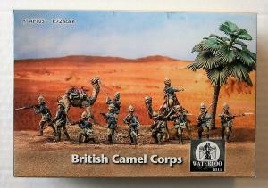 WATERLOO 1/72 AP105 BRITISH CAMEL CORPS