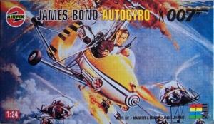AIRFIX 1/24 04401 JAMES BOND AUTOGYRO