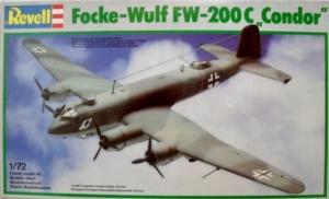 REVELL 1/72 4424 FOCKE-WULF Fw 200C CONDOR