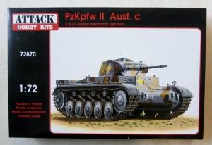 ATTACK 1/72 72870 Pz.Kpfw II Ausf.C GERMAN WEHRMACHT LIGHT TANK