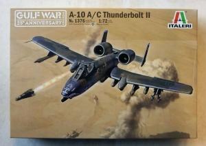 ITALERI 1/72 1376 A-10A/C THUNDERBOLT II GULF WAR