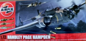 AIRFIX 1/72 04011 HANDLEY PAGE HAMPDEN
