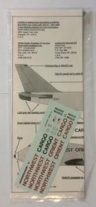 0 1/200 1337. 201 NORTHWEST ORIENT CARGO 747-200 FREIGHTER