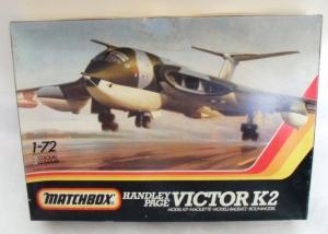 MATCHBOX 1/72 PK-551 HANDLEY PAGE VICTOR K.2