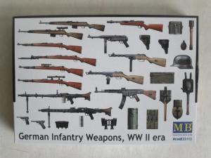 MASTERBOX 1/35 35115 GERMAN INFANTRY WEAPONS WWII ERA