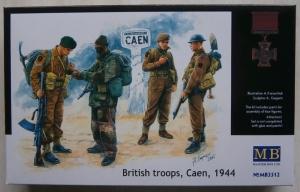MASTERBOX 1/35 3512 BRITISH TROOPS CAEN 1944