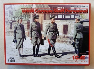 ICM 1/35 35611 WWII GERMAN STAFF PERSONNEL