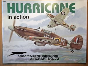 SQUADRON/SIGNAL AIRCRAFT IN ACTION  1072. HURRICANE