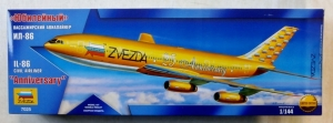 ZVEZDA 1/144 7025 IL-86 CIVIL AIRLINER 25th ANNIVERSARY