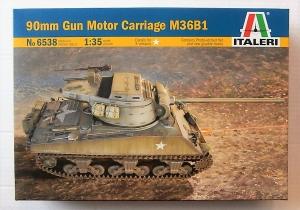 ITALERI 1/35 6538 M63B1 90mm GUN MOTOR CARRIAGE
