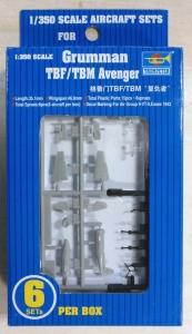 TRUMPETER 1/350 06212 GRUMMAN TBF/TBM AVENGERS