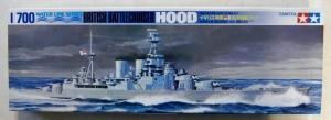 TAMIYA 1/700 77527 HMS HOOD