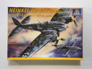 ITALERI 1/72 037 HEINKEL He 111  H-22  WITH V-1  Fi-103  FLYING BOMB