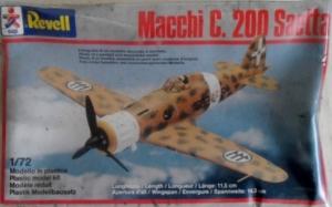 REVELL 1/72 4160 MACCHI C.200 SAETTA