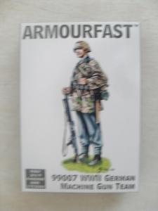 ARMOURFAST 1/72 99007 WWII GERMAN MACHINE GUN TEAM