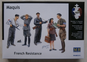 MASTERBOX 1/35 3551 MAQUIS FRENCH RESISTANCE