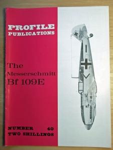 PROFILES AIRCRAFT PROFILES 040. MESSERSCHMITT Bf 109 E