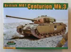 ACE 1/72 72425 BRITISH MBT CENTURION Mk.3
