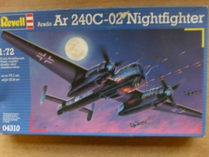 REVELL 1/72 04310 ARADO Ar 240C-02 NIGHTFIGHTER