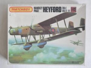 MATCHBOX 1/72 PK-605 HANDLEY PAGE HEYFORD