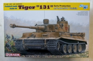 DRAGON 1/35 6820 Pz.Kpfw.VI Ausf.E TIGER 131 EARLY PRODUCTION S.Pz.Abt.504 TUNISIA