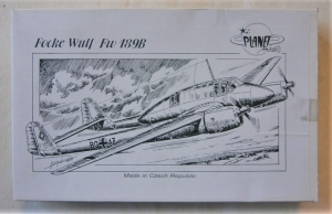 PLANET MODELS 1/72 053 FOCKE WULF Fw 189B