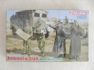 DRAGON 1/35 6723 ROMMEL   STAFF NORTH AFRICA 1942