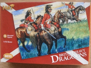 HAT INDUSTRIES 1/72 8033 NAPOLEONIC BRITISH HEAVY DRAGOONS