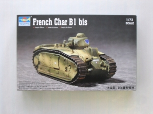 TRUMPETER 1/72 07263 FRENCH CHAR B1 bis
