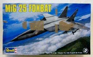 REVELL 1/48 5860 MiG-25 FOXBAT