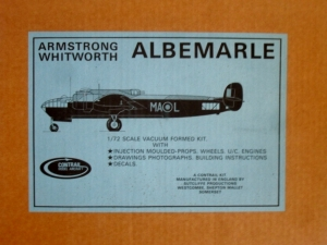 CONTRAIL 1/72 ARMSTRONG WHITWORTH ALBEMARLE