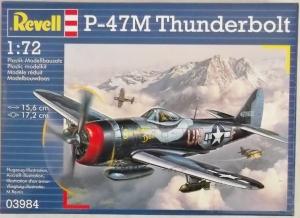 REVELL 1/72 03984 P-47M THUNDERBOLT