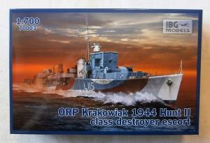 IBG MODELS 1/700 70003 ORP KRAKOWIAK 1944 HUNT II CLASS DESTROYER ESCORT