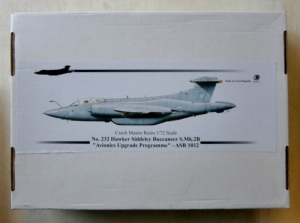 CZECH MASTER RESIN 1/72 232 HAWKER SIDDELEY BUCCANEER S.Mk.2B AVIONICS UPGRADE PROGRAMME ASR 1012