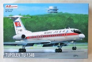AZ MODEL 1/144 14419 TUPOLEV Tu-134B