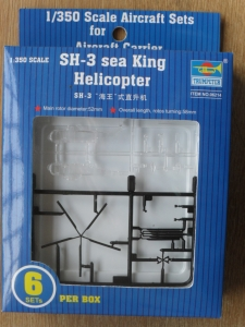 TRUMPETER 1/350 06214 SH-3H SEA KINGS