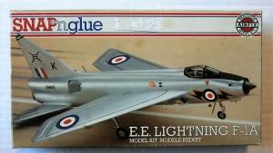 AIRFIX 1/72 02068 ENGLISH ELECTRIC LIGHTNING F-1A SNAP N GLUE