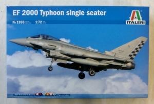 ITALERI 1/72 1355 EF 2000 TYPHOON SINGLE SEATER