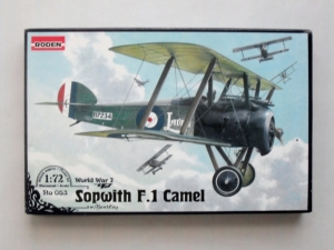 RODEN 1/72 053 SOPWITH F.1 CAMEL WITH BENTLEY