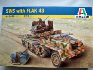 ITALERI 1/35 6480 SWS WITH FLAK 43