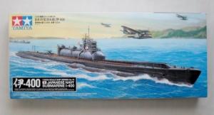 TAMIYA 1/350 78019 I-400 JAPANESE NAVY SUBMARINE