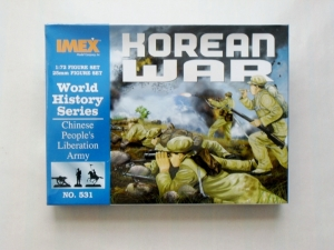 IMEX 1/72 531 KOREAN WAR CHINESE TROOPS