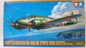 TAMIYA 1/48 61092 MITSUBISHI Ki-46 TYPE 100 COMMAND RECON PLANE DINAH