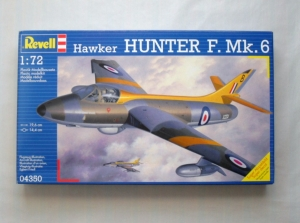 REVELL 1/72 04350 HAWKER HUNTER F. Mk.6