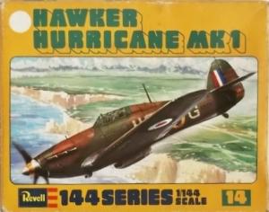 REVELL 1/144 H1014 HAWKER HURRICANE Mk.I