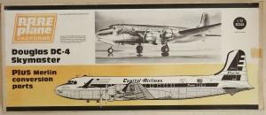 RAREPLANE 1/72 DOUGLAS DC-4 SKYMASTER