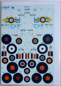 XTRADECAL 1/48 48149 FIGHTERS OVER AFRICA   THE MEDITERRANEAN Pt.1